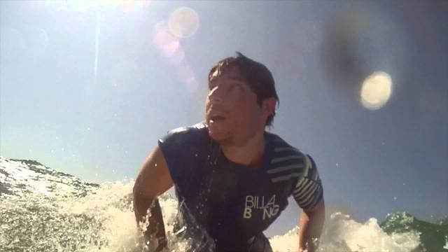 Replay XD Longboard surfing Manuel Antonio CR
