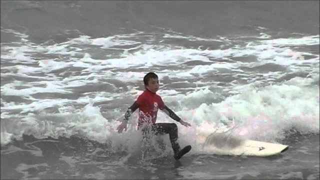 level 2 (red rashies) surf coaching at Bens Surf Clinic.wmv