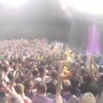 Hardwell, Dannic & Dyro Crowd Surfing Fail