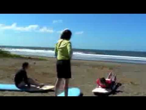 Surf lessons and relaxing at Rise Up Surf Camp