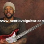 Advanced arpeggio tapping guitar lesson ala Howe Van Halen Bumblefoot Satriani