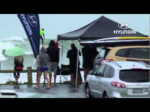 2012 Hyundai Tour – 1ST LONGBOARD EVENT AT RAGLAN HIGHLIGHTS