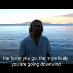 Kiteboarding Lesson: Slow Down to go Up Wind