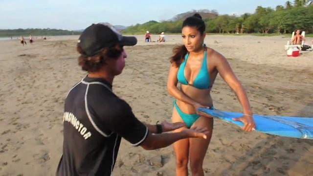 Killer Surf Lesson in Costa Rica: LESSON ONE
