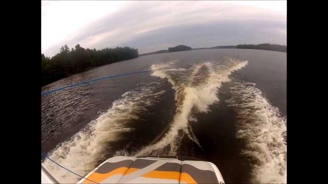 Backflip Fails Wake Surfing