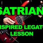 Joe Satriani Inspired Fast Shred Legato Lick – How To Play Lead Guitar Soloing Lesson – Intermediate