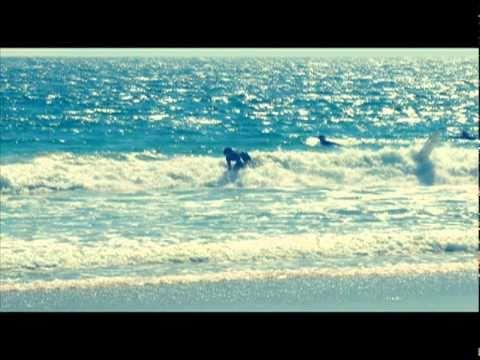 Surfing Fail Bail at 56 Street Newport Beach California