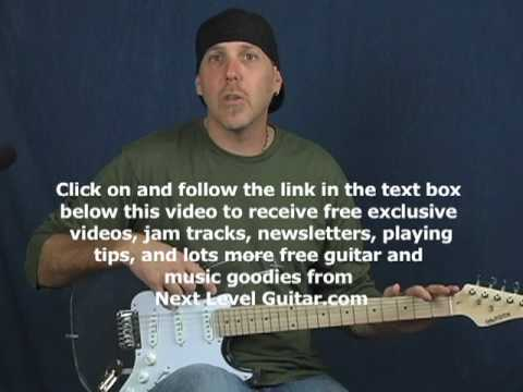 Learn lead guitar intermediate lick of week lesson combine arpeggios across neck