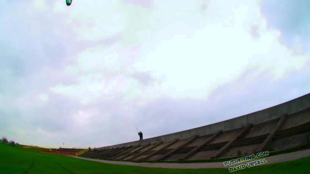 David Ursell – Extreme Kite boarding