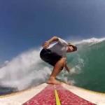 Surfing Longboard