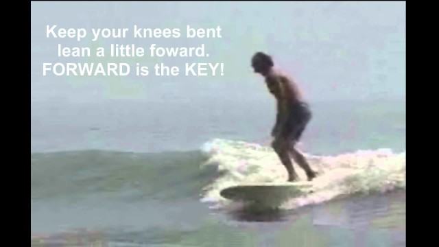 How To Catch Your 1st Wave, Surf Longboard,