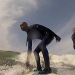 Small waves + longboard, make fun surf session.