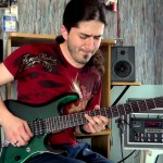 Joe Satriani – Surfing With The Alien – Guitar performance by Cesar Huesca