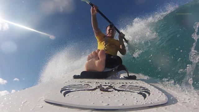 2014 Duke's OceanFest (Amputee Waveski Surfing with AccesSurf)