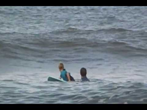 6- Year old kid, Vance's First Wave at Surfing Competition