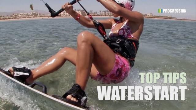 Waterstart – Kitesurfing Top Tips (UPDATED)