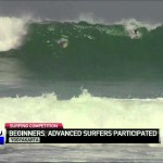 Indonesian Surfers Compete in Yogyakarta Surf Competition