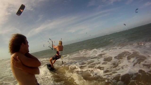 Kite surfing – Brazylia 2011