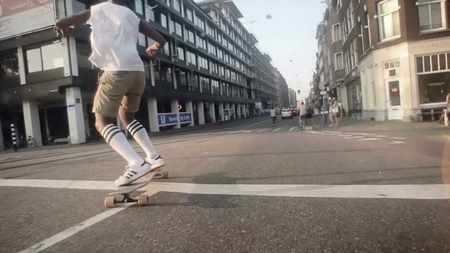 Simple Longboards –  ≈ Amsterdvm Concrete Waves ≈