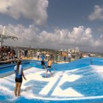 Royal Caribbean Oasis Of The Seas FlowRider Surfing Fail Compilation
