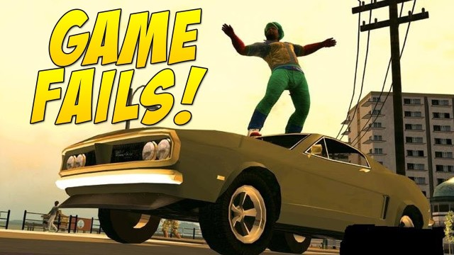 Car Surfing! (Game Fails #42)