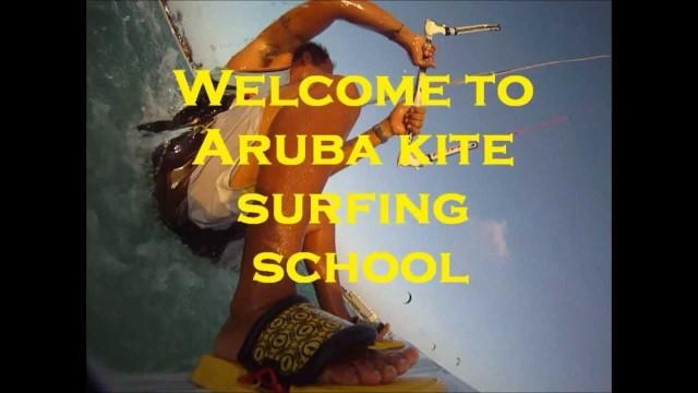 aruba kite surfing school and surfing