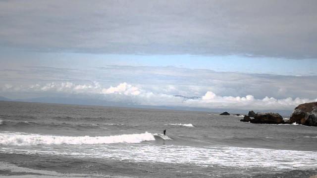 Rockaway Beach Surf Longboard 6/2/2011