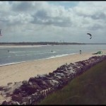 Kitesurfing – learning from step 1 to 6 – Rio, Barra do Cunhaú, Maracaípe
