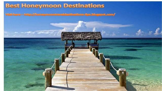 Best Honeymoon Destinations Maldives
