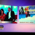 Hilarious funny Indoor surfing fail with Gavin Ranjuan, Adrian Chiles and Christine Bleakley