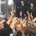 Crowd Surfing Fail