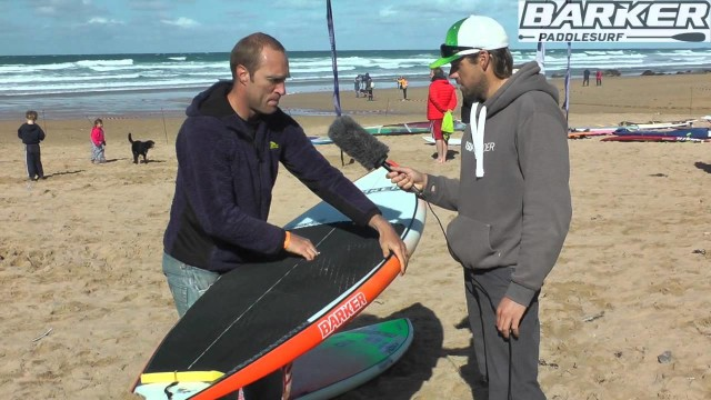 SUP boards at the UK SUP surfing nationals