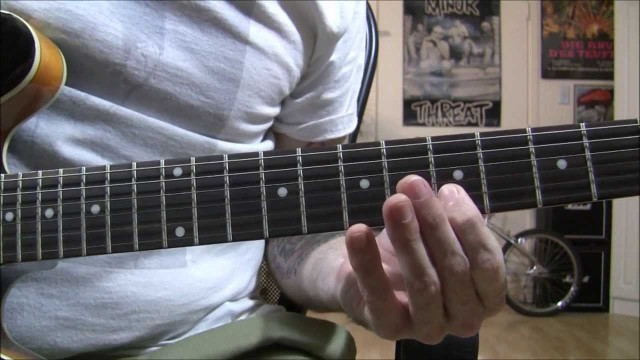 Rockabilly Guitar Tremolo Picking Lesson..