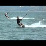 Costa Rica Kitesurfing at  Lake Arenal , Danny