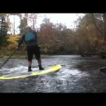 Creek SUP Surfing