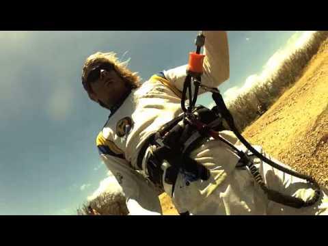 kitesurfing in  bahia salinas, Costa Rica