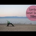 Intermediate Sunset Beach Yoga For Relaxation