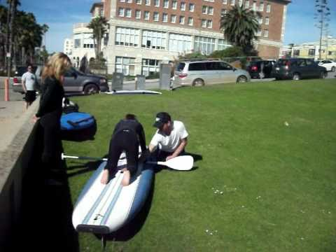 Stand Up Paddle Lessons Santa Monica, California – Casa Del Mar Hotel