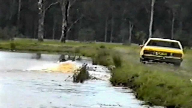 car tow surfing FAIL