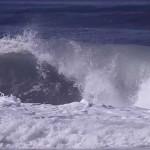 Garrett Parkes surfing in France