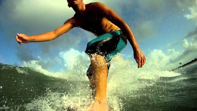 My GoPro Surfing FAIL!