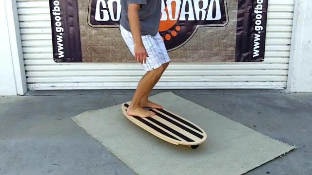 GoofBoard – Rail-2-Rail Balance Board for Surfers