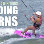 Sliding Turn – Kitesurfing Terminology – Progression