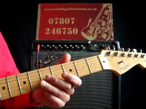 Guitar Lessons Advanced – Echo Beach