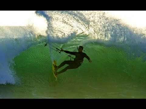 Kitesurfing California's Winter Waves 2011