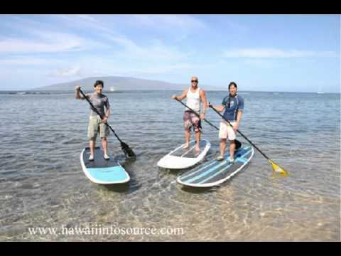 Goofy Foot Surf School Maui Stand Up Paddle Boarding Lessons