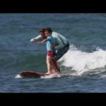 Kids Tandem Surf Lessons at Hans Hedemann Surf School Waikiki