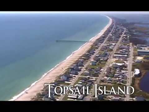 Topsail Island, NC Video Tour and Overview of our beach