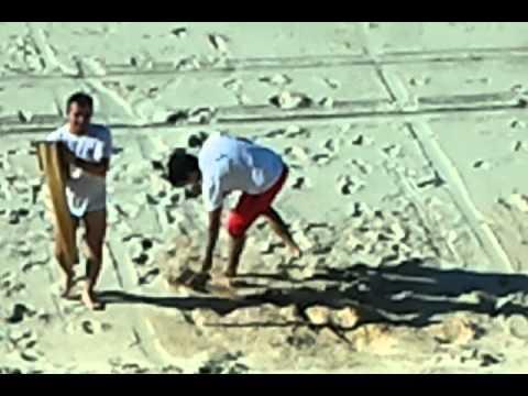 Sand Surfing in Fortaleza BRAZIL