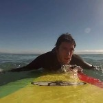 Gopro: Aprendiendo a surfear longboard con gopro hero 3 parte 1